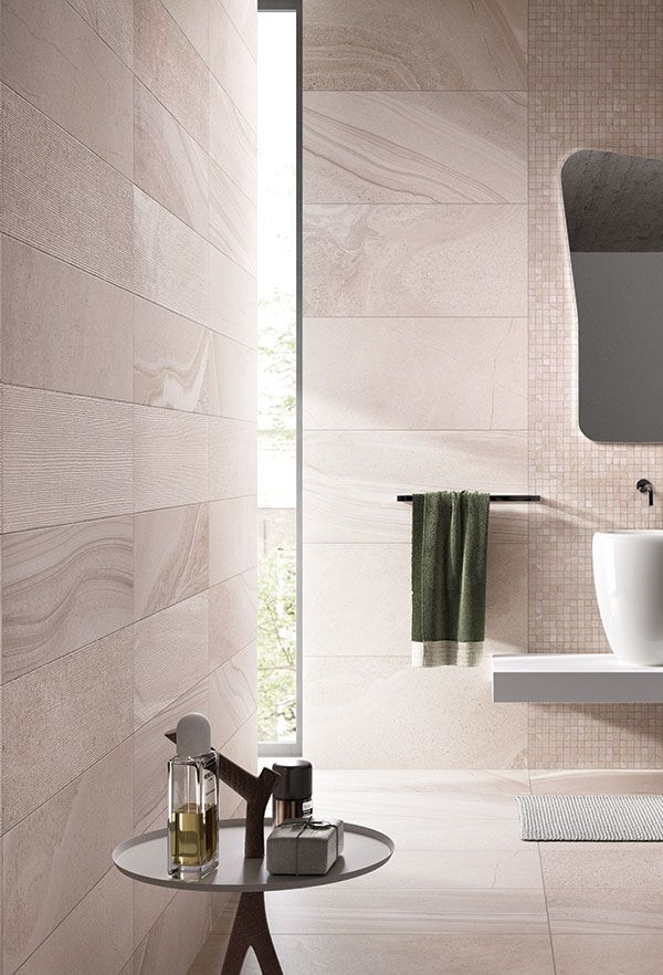 ABK Re-Work Multi Beige - Natural Rectified Full bodied porcelain tile collection