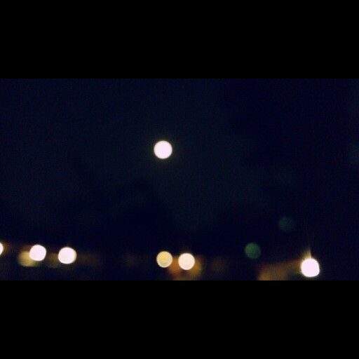 Moon light from Bandung, Indonesia. #moonlight #bandung #indonesia