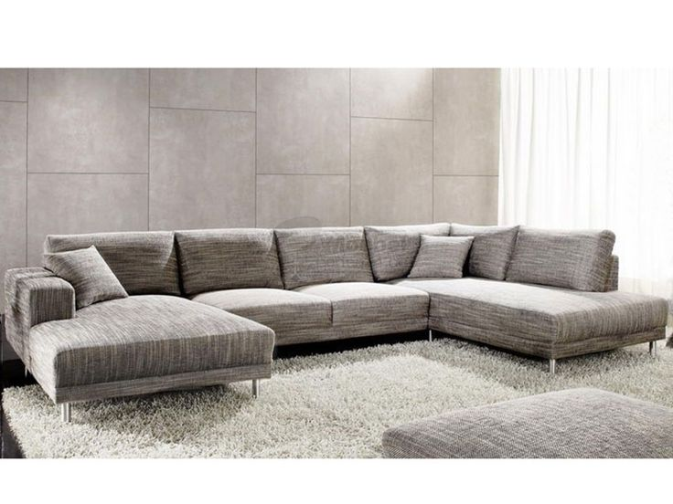 Candy Wohnlandschaft Modesto Base/Modesto Umbauecke+Sofa 2 Sitzer mit oder ohne Sitzvorzug+Ottomane für Wohnzimmer in Stoff -oder Lederbezug wählbar