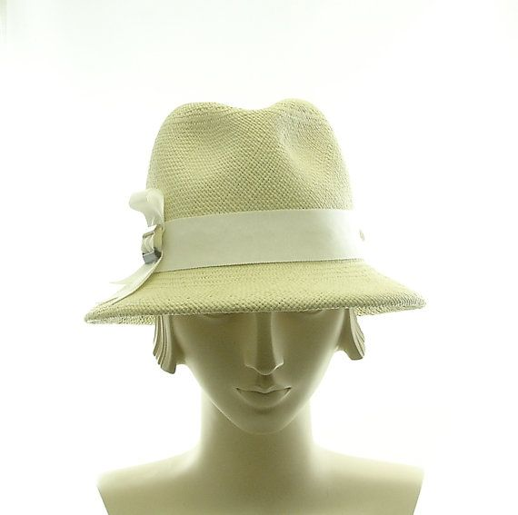 Light Green Vintage Style Womens Fedora  by TheMillineryShop, $215.00