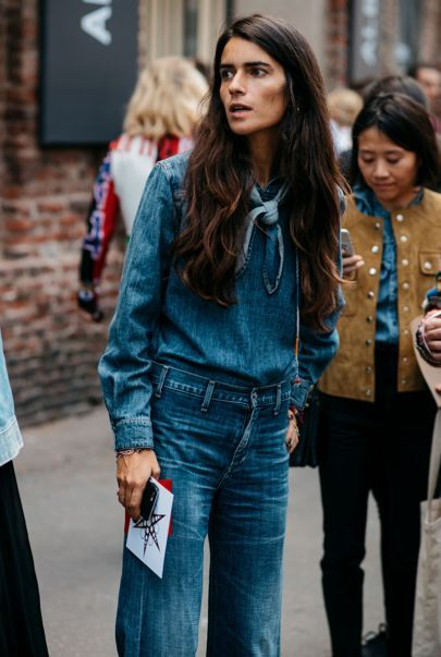 Street Style : double denim || Saved by Gabby Fincham ||