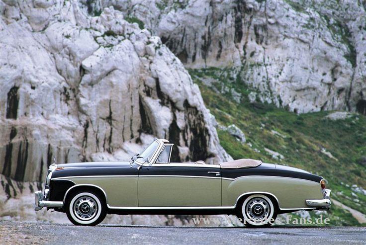 Mercedes Cabrios: Stars oben ohne!: Ein heißes Thema in kalten Zeiten: ein Mercedes Cabrio war immer schon etwas Besonderes - Classic - Mercedes-Fans - Das Magazin für Mercedes-Benz-Enthusiasten