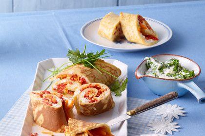Ofenpfannkuchen mit Gemüse und Feta, ein sehr leckeres Rezept aus der Kategorie Mehlspeisen. Bewertungen: 107. Durchschnitt: Ø 4,6.