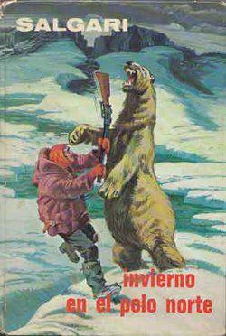 Invierno en el Polo Norte. Emilio #Salgari - #Gahe