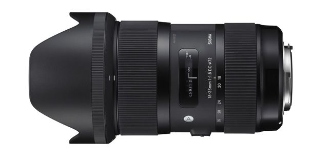 Sigma 18-35mm f/1.8: first-ever zoom lens with wide constant aperture unveiled