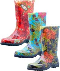 Sloggers Rain Boots- perfect for getting down and dirty in the garden.