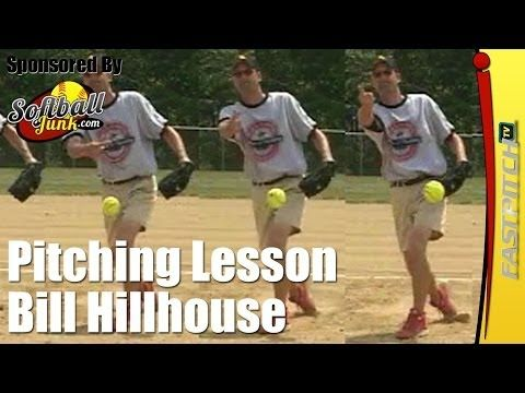 Fastpitch Softball Pitching Lessons - Bill Hillhouse - YouTube