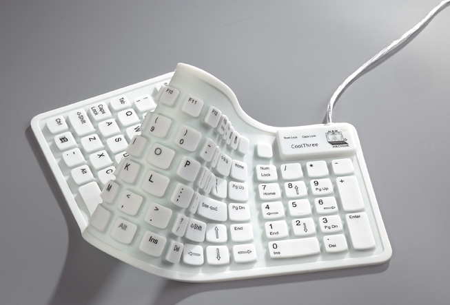 medical keyboard - washable.