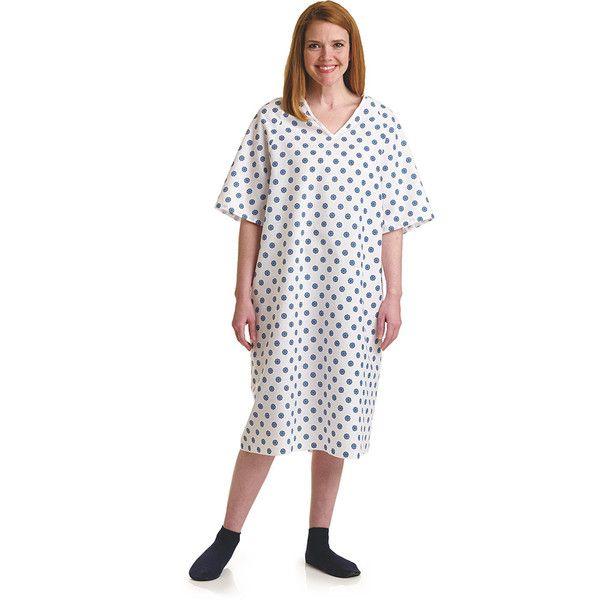 Overlap SNAP Back Closure Gowns (1 Dozen) - BH Medwear