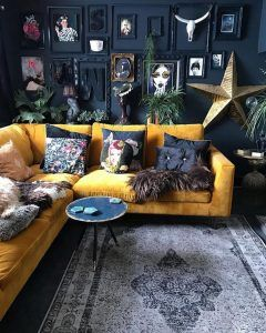 Sarı Koltuk Modelleri ile Farklı Salon Dekorasyonu Örnekleri – dekorolog