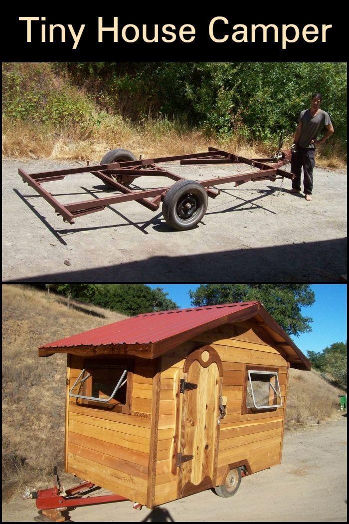 Tiny House Camper Tiny House Camper Tiny House Trailer Diy