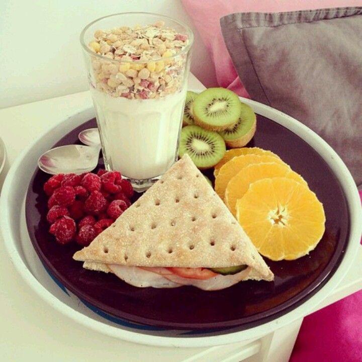 Idea Desayuno fácil de armar! #UMayor #estudiantes #desayuno