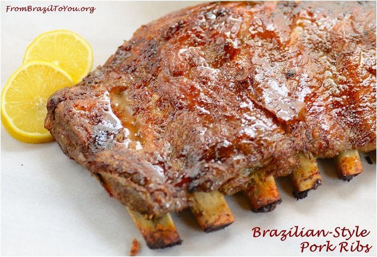 Brazilian-Style Pork Ribs (costela de porco assada)