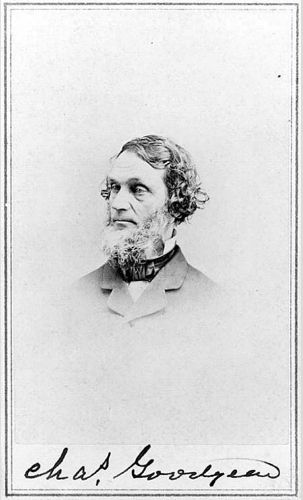 Charles Goodyear and the Vulcanization of Rubber - Obsessive dedication transformed rubber into a viable commercial material and made the town of Naugatuck one of its leading manufacturing sites in the 1800s. - See more at: http://connecticuthistory.org/charles-goodyear-and-the-vulcanization-of-rubber/