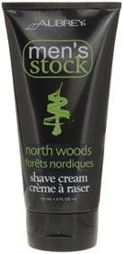 Aubrey Organics Mens Stock North Woods Shave Cream Classic Pine scent for a smooth, cool shave. Use daily for a comfortable, easy shave and invigorated skin. Soothes and guards against irritation from razor burn. North Woods — Classic pine scent, cool and invigorating. Vegan. http://www.theremustbeabetterway.co.uk/aubrey-organics-mens-stock-north-woods-shave-cream.html