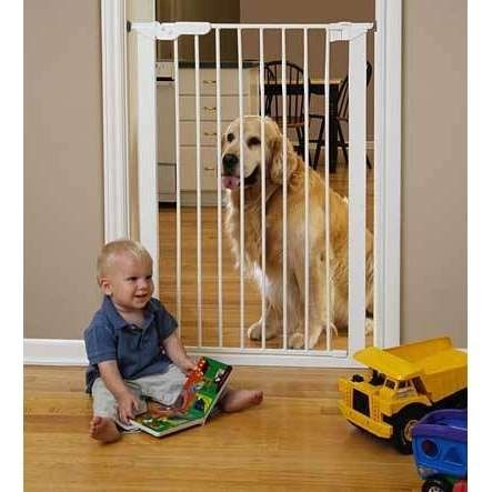 Tall baby gate