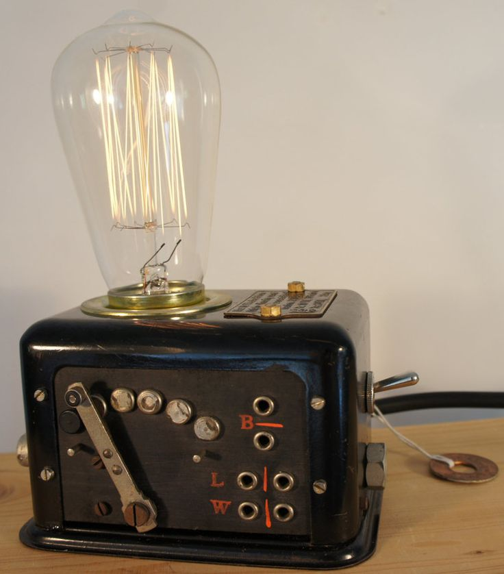 31 best cool unique industrial vintage design upcycle lamps images on pinterest recycling. Black Bedroom Furniture Sets. Home Design Ideas