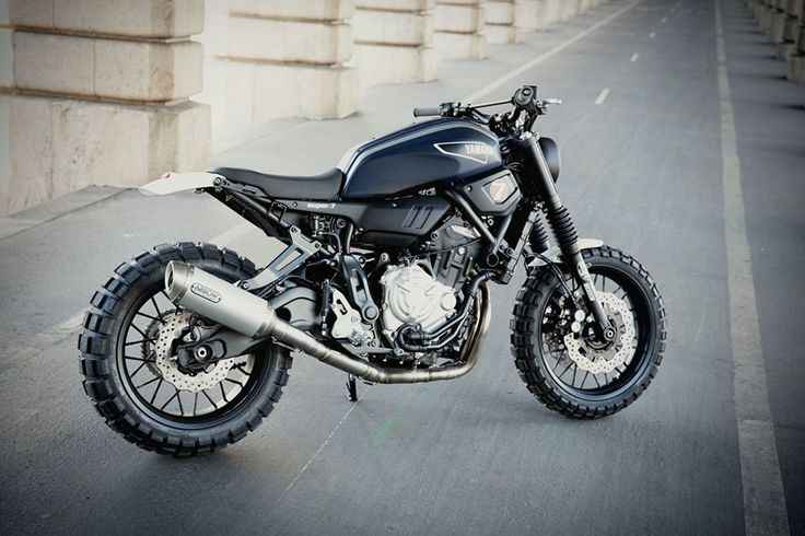 yamaha xsr 700 super 7 scrambler by jvb moto custom motorcycles projects 1 pinterest. Black Bedroom Furniture Sets. Home Design Ideas