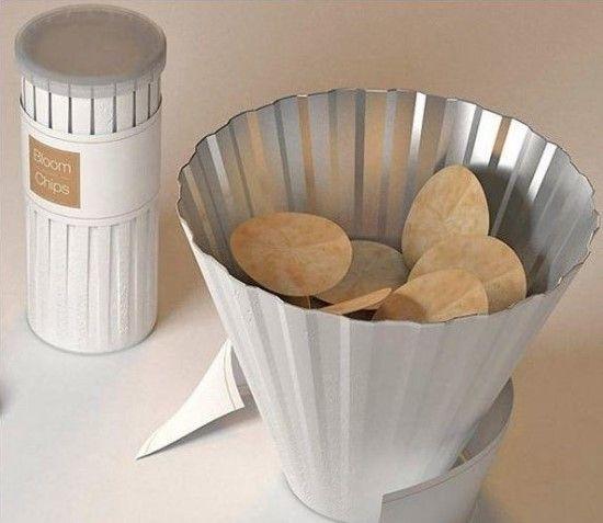 8 감자칩 패키지 디자인 Bloom Chips  http://blog.naver.com/altnrkfn17/140208179093