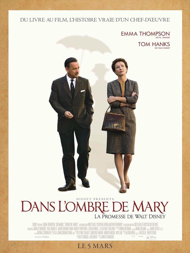 Dans l'Ombre de Mary, la promesse de Walt Disney (Saving Mr Banks) de John Lee Hancock en salles françaises le 5 mars 2014