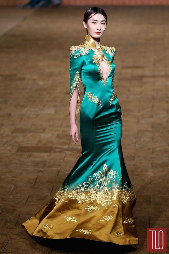 China-Fashion-Week-Spring -2015-Zhan-Zhifeng (2)