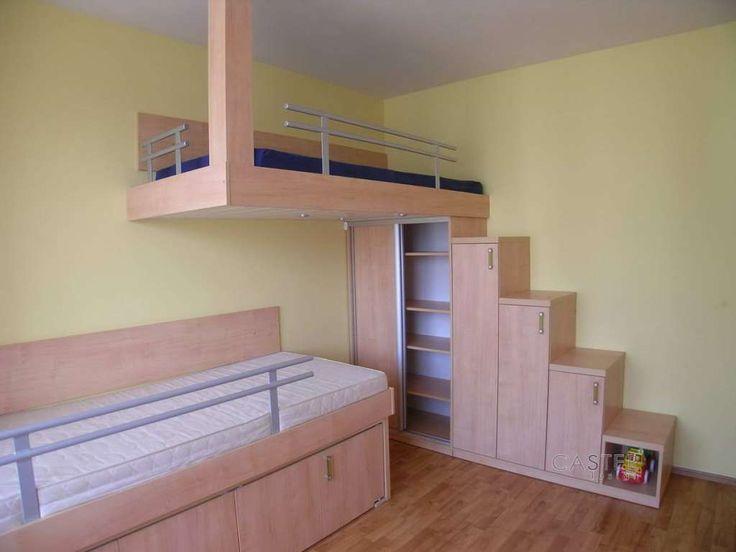 Die besten 25+ Kinder etagenbetten Ideen auf Pinterest Junge - schlafzimmer mit spielbereich eltern kinder interieur idee ruetemple
