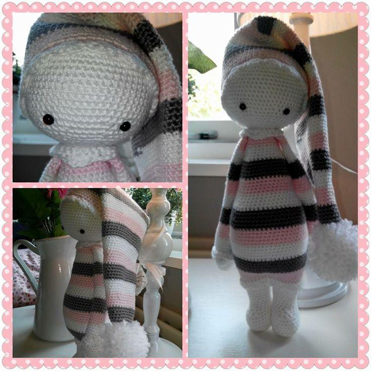 sleepyhead mod made by Cindy H. / based on a lalylala crochet pattern