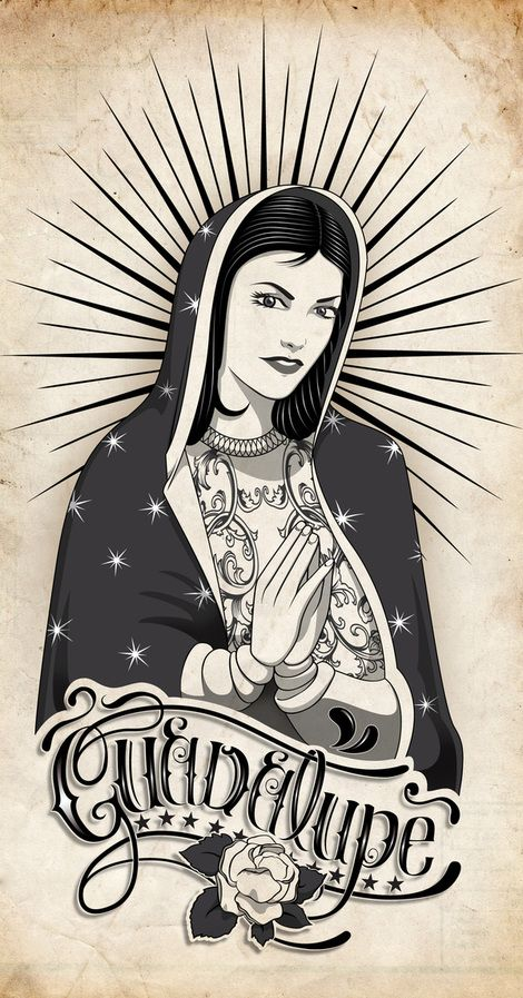 Virgen de Guadalupe on Behance