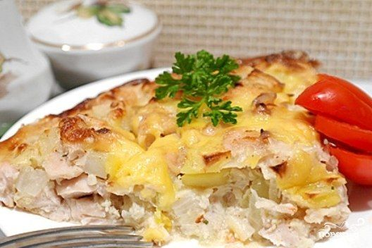 CASSEROLE WITH CHICKEN FILLET