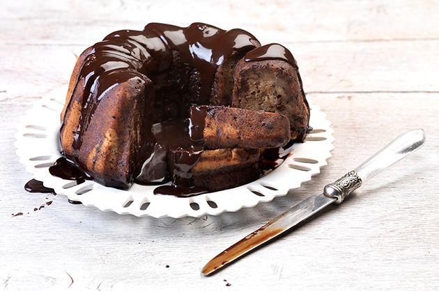 Μπανάνα κέικ με κρέμα σοκολάτας-featured_image