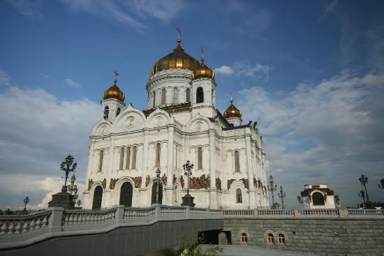 Christ the Savior Cathedral, Moscow, Russia