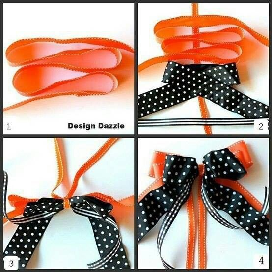 How to make a bow: Easy way to make a bow!