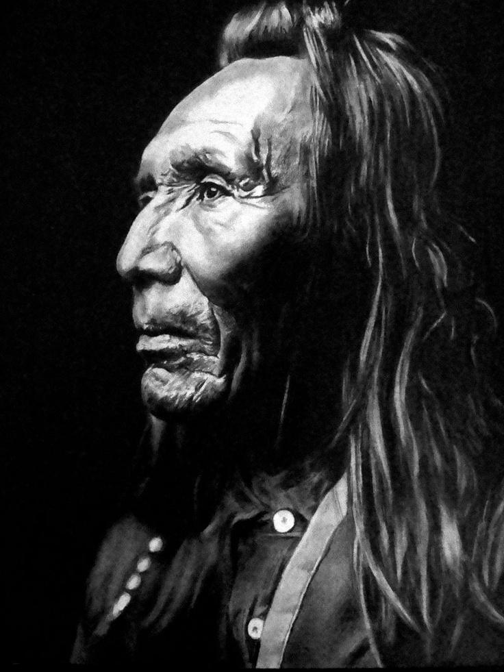 Three Eagles (Nez Perce) - Native American
