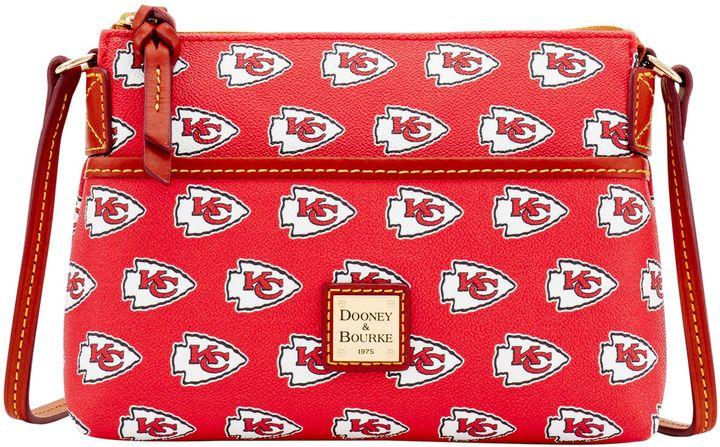 Dooney & Bourke NFL Chiefs Ginger Crossbody Shoulder Bag
