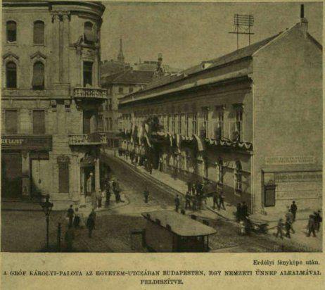 VU 1903 Károlyi palota  - Erdélyi Mór felvételén 012