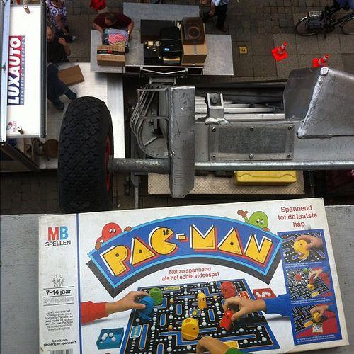 Pac-Man. Net zo spannend als het echt videospel! #abnonthemove spelautomater http://gamesonlineweb.com/casino/