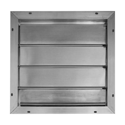 Broan 16 75 In X 16 75 In Aluminum Automatic Gable