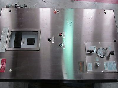 Thermon TC-1818A Electric Heat Tracing Power Distribution Control Monitoring SS