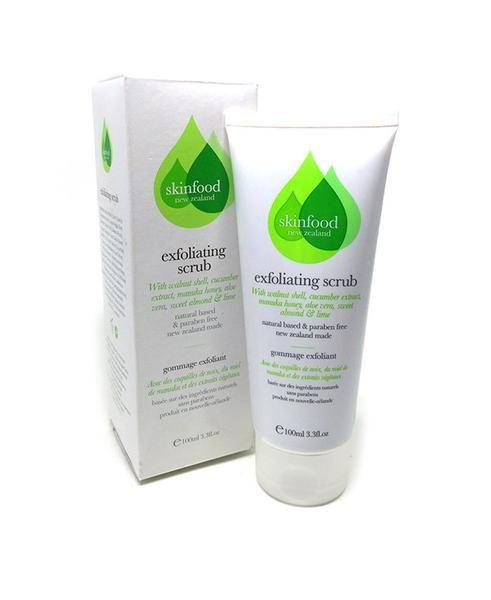 Exfoliating Scrub, skin food, levetrina, scrub, face, face care, exfoliator
