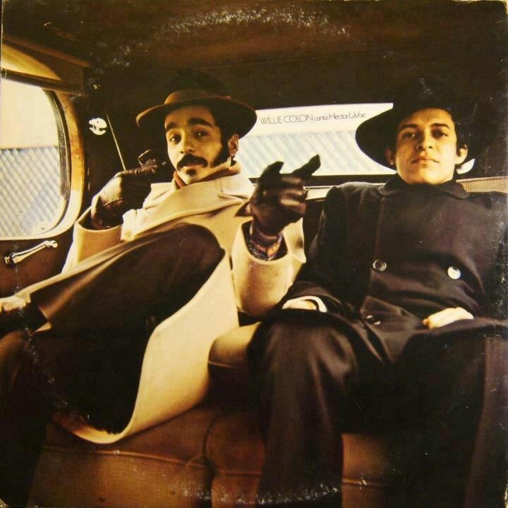 Salsa legends,  Willie Colon and Hector La voe