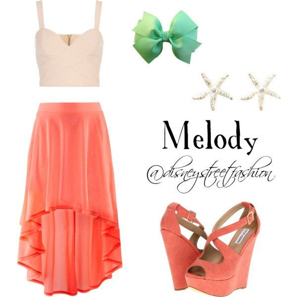 melody - little mermaid | outfits