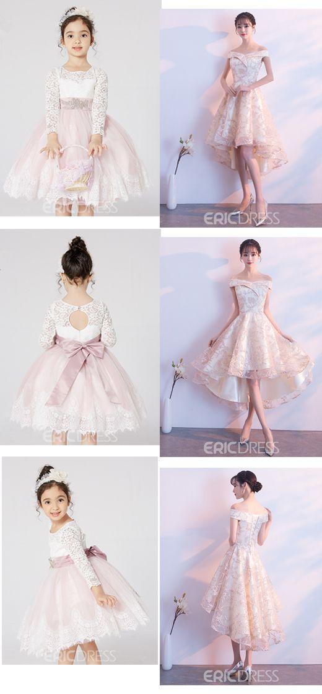 4bf46fcca Ericdress Knee Length Ball Gown Flower Girl Dress | Flower Girl ...
