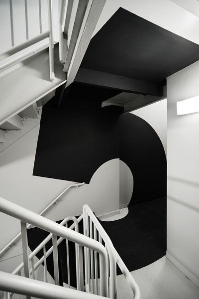 Fifth Floor: Stairs, Floors, Paula Scher, Numbers, Paulascher, Interiors Design, Cars Girls, Girls Style, Environment Graphics Design