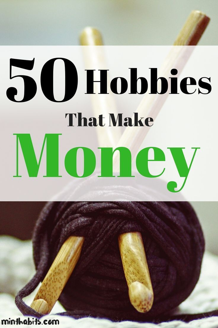 Need money making hobby ideas? Check out this massive list of 50 hobbies that make money!