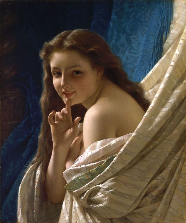 https://flic.kr/p/bsXLJt | Pierre Auguste Cot - Portrait of a Young Woman [1869] | Pierre Auguste Cot (Bedarieux, February 17, 1837 - August 2, 1883) was a French painter of the Academic Classicism school. He enjoyed the protection of the academic sculptor Francisque Duret, whose daughter he married, and of Bouguereau, with whom he had also worked. Cot also was renowned for his portraits, which made up the majority of his work.  [Oil on canvas, 54.9 x 65.4 cm]…