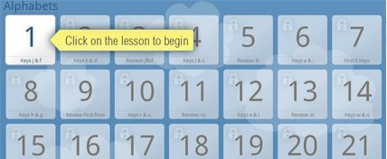 TypingClub - free typing lessons for children. @Sherita Martin