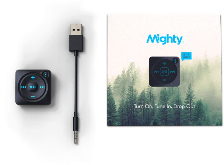Mighty plays your Spotify musicon-the-go without a smartphone.Enjoy your workouts, commutes, and adventures without worrying about bulky phones, data overages, and battery drain. Mighty is Bluetooth and WiFi enabled, supports wired and mostBluetooth headphones and speakers, has 1,000+ song storage, and is super durable and super clip-on. It's pretty cool. *International packages may be subject to duties/VAT. Please check with your local customs office and government for assessing the...