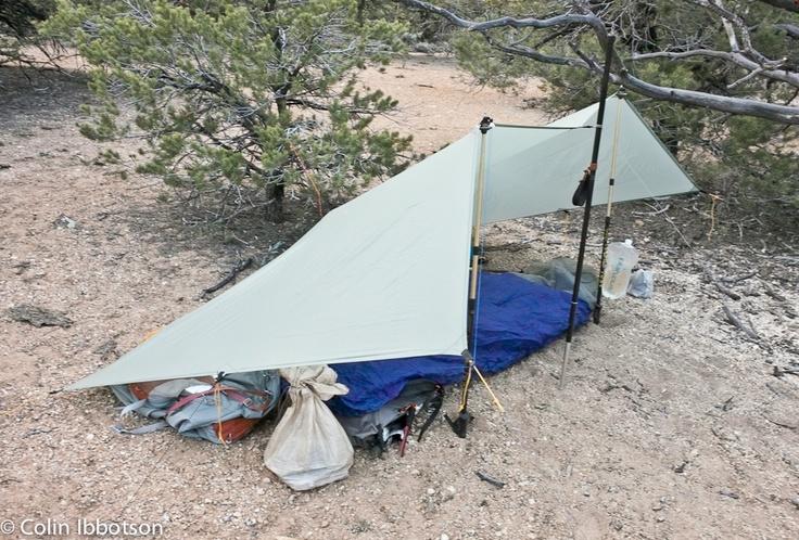 Tramplite S Travels Mld Monk Tarp Review Ultralight Backpacking Gear Tarps Outdoor Gear