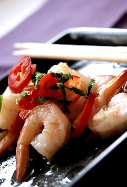 """""""Back to basics"""" shrimps"""