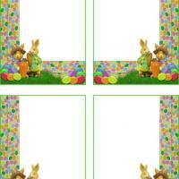 73 best easter images on pinterest easter bunny free printable repin and like printable easter bunnies colorful gift cards freeprintable negle Choice Image